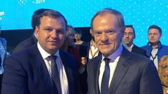 Despre ce a discutat Andrei Năstase cu Donald Tusk la Zagreb