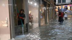 Italia - 70% din Veneţia sub ape, în urma unui nou episod de inundaţii