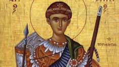Creştinii ortodocși de stil vechi îl sărbătoresc astăzi pe Sfântul Dimitrie Izvorătorul de Mir, martir creştin din secolul al IV-lea