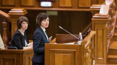 Discursul INTEGRAL al premierului Maia Sandu în cadrul ședinței unde urmează să fie votată moțiunea de cenzură