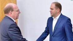 """Ambasadorul Rusiei s-a întâlnit cu Ion Ceban la Primăria Chișinău. """"Am convenit asupra unei agende comune pentru următoarele luni"""""""