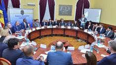 Ion Ceban s-a întâlnit cu 24 de ambasadori