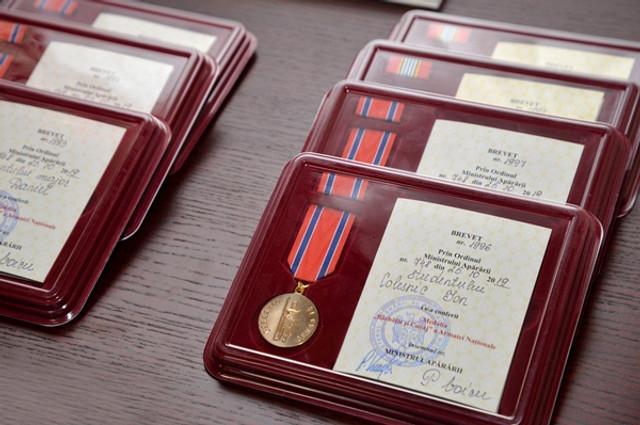 """Studenții militari, participanți la competiția internațională """"Cambrian Patrol 2019"""" au fost decorați cu distincții"""