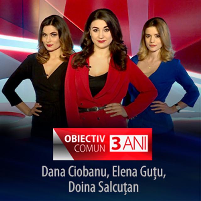 Emisiunea OBIECTIV COMUN, difuzată de TVR Moldova, împlinește 3 ani de la lansare