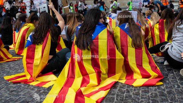 Spania: Sprijinul pentru independență s-a redus în Catalonia (sondaj)
