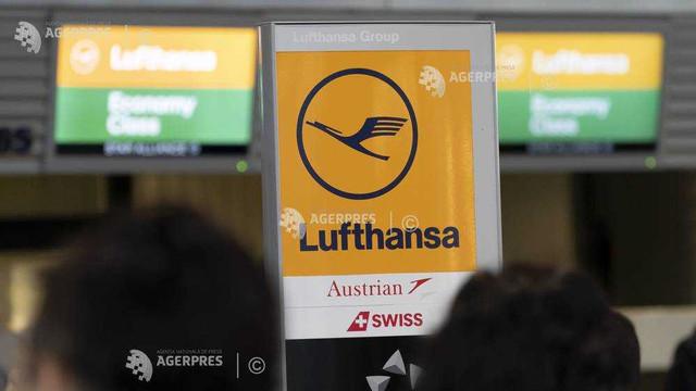 Germania: Încă 20 de zboruri anulate după greva Lufthansa