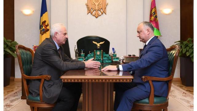 DECRET semnat de Ior Dodon   Vasile Șova, consilier al șefului statului în domeniul politicii și reintegrării