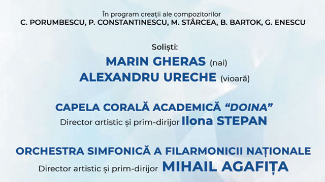 Concerte extraordinare, dedicate zilei Marii Uniri de la 1 decembrie, au avut loc la Filarmonica din Chișinău