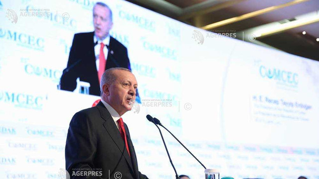Atac virulent al lui Erdogan împotriva lui Macron: 'Examinează-ți mai întâi propria moarte cerebrală!'
