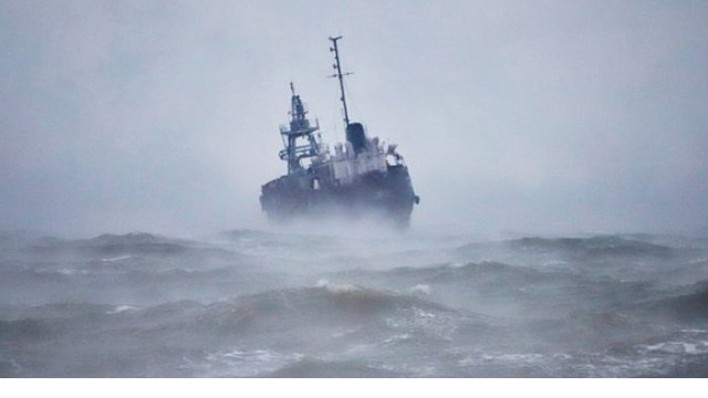 O navă sub pavilionul R. Moldova a eșuat lângă Odesa
