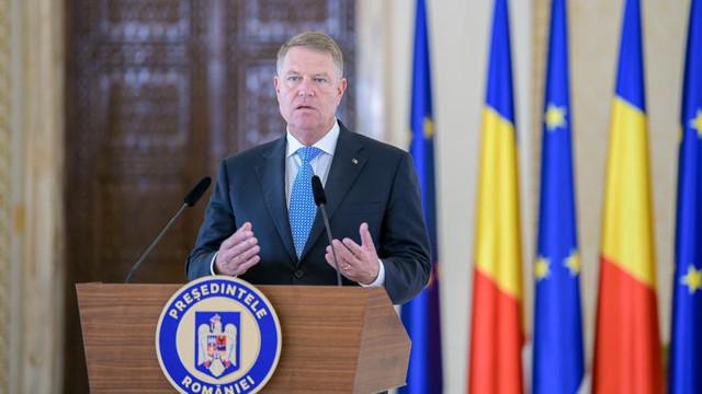Mesajul președintelui României, Klaus Iohannis, privind situația din R.Moldova, după căderea Guvernului Sandu