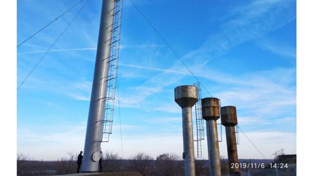 Opt rezervoare de apă au fost construite pe Nistru în cadrul unui proiect susținut de Germania