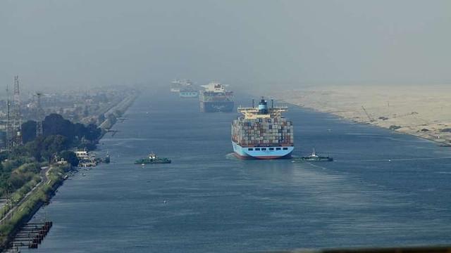 Egiptul marchează 150 de ani de la inaugurarea Canalului Suez, un obiectiv important pentru comerțul maritim internațional