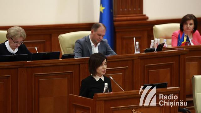 Proiectul pentru modificarea Legii Procuraturii. Discursul integral ținut de Maia Sandu în Parlament