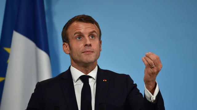 Emmanuel Macron: Uniunea Europeană va dispărea dacă nu va fi gândită ca o putere mondială