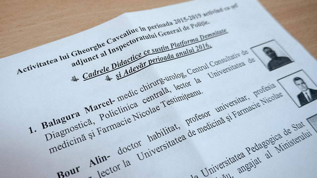 Chiril Moțpan prezintă o listă cu activiști și jurnaliști care ar fi fost interceptați