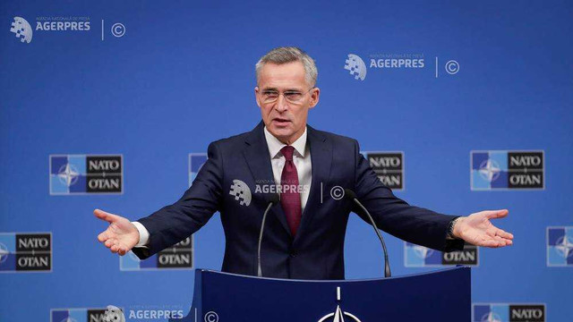 Secretarul general al NATO Jens Stoltenberg anunţă revizuirea în sus a estimărilor de creştere a bugetelor apărării