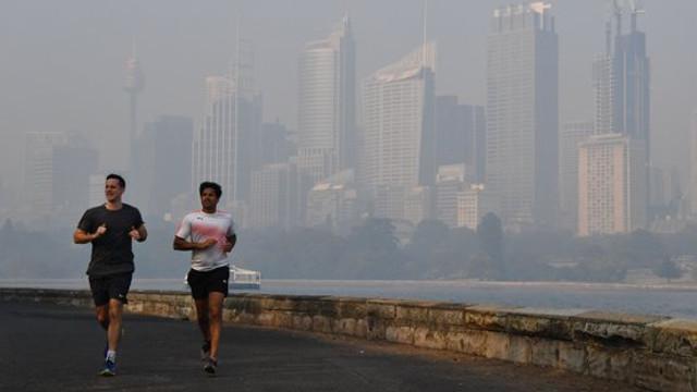 Sydney, unul dintre cele mai poluate orașe din lume din cauza incendiilor de vegetație