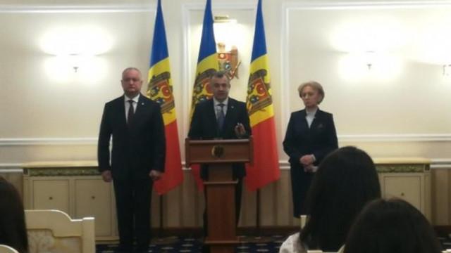 Igor Dodon, în ședință cu Zinaida Greceanîi și Ion Chicu