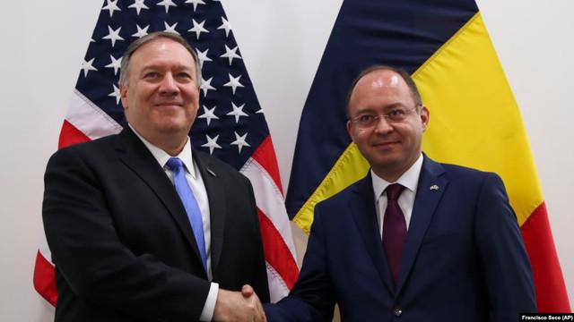 Dosarul transnistrean și situația politică din R.Moldova, pe agenda discuțiilor Ministrului de Externe de la București și secretarului de stat al SUA