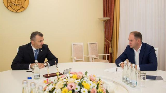 Ion Ceban îi mulțumește lui Ion Chicu pentru intersesul sporit de a îmbunătăți dialogul între instituțiile statului