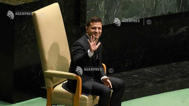 Ucraina: Preşedintele Zelenski se declară ''obosit'' de scandalul legat de Trump şi Burisma