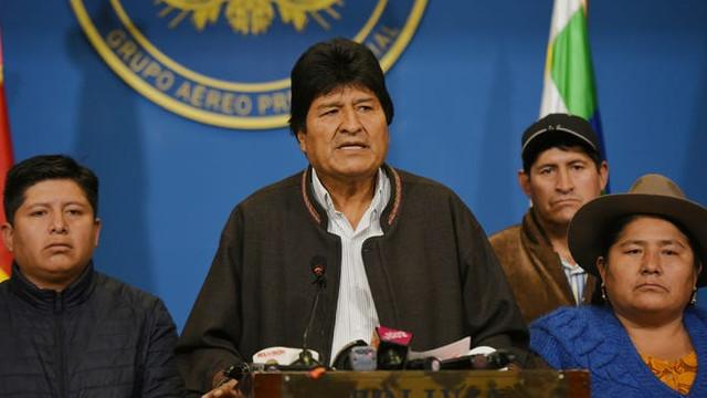 O senatoare din Bolivia, dispusă să preia funcția de președinte interimar