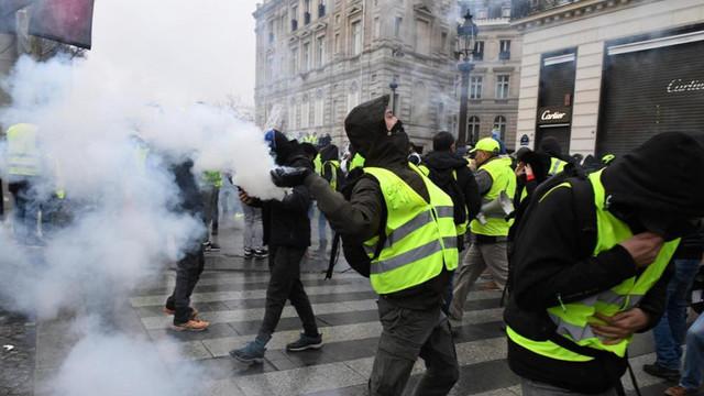 FRANȚA | Mişcarea Vestelor Galbene au continuat protestele