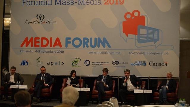 Forumul Mass-Media-2019   Problemele invocate de către comunitatea jurnalistică în colaborare cu autoritățile