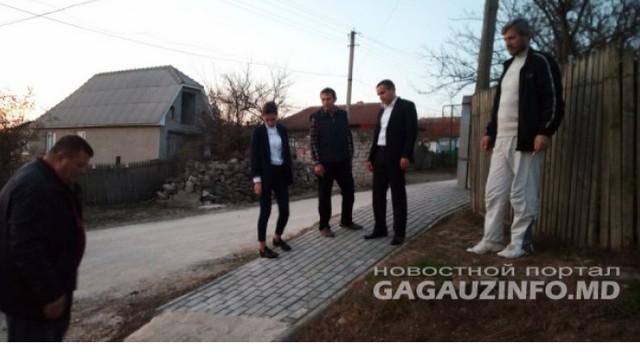 Un proiect de infrastructură, susținut de UE, a fost finalizat la Tomai, regiunea găgăuză
