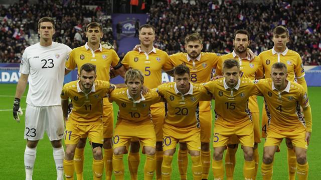 Meci amical între Naționala Moldovei și echipa Rusiei