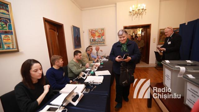 Alegeri prezidențiale în România/ Peste 20 de mii de cetățeni români din R. Moldova au votat până acum la alegerile prezidențiale din România