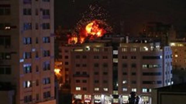 FOTO/VIDEO | Bombardamente în Israel: Grupurile palestiniene au lansat sute de rachete din Fâșia Gaza