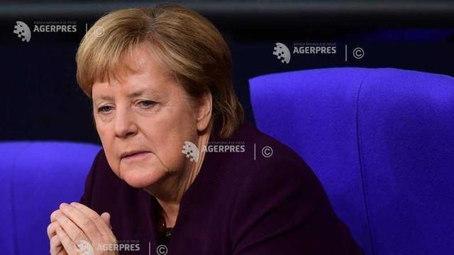 Angela Merkel nu este de acord cu viziunea radicală a lui Macron despre NATO