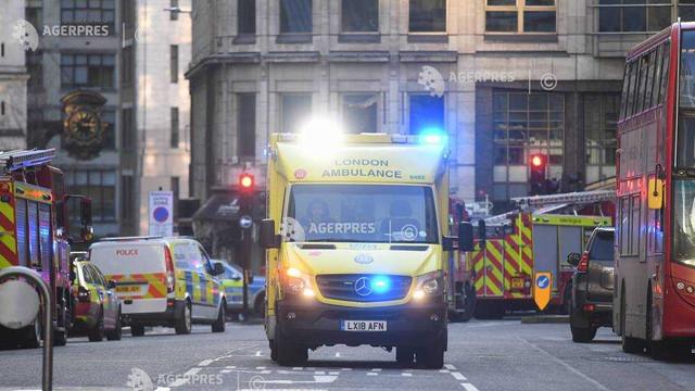Atac pe Podul Londrei: Atacatorul împuşcat era un fost deţinut condamnat pentru terosim (poliţia)