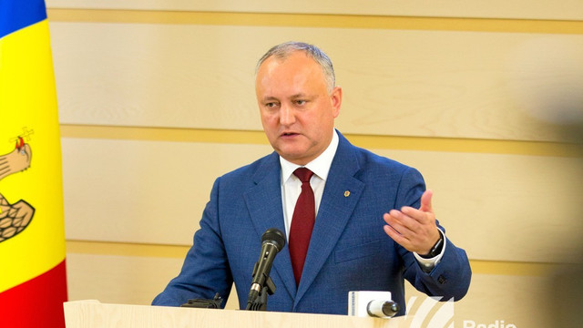 Igor Dodon: Guvernul Sandu oricum pica. Totul era pregătit