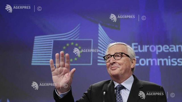 Juncker și-a susținut ultima conferință de presă în calitate de președinte al CE, încheind-o cu 'mi-e foame' (AFP)