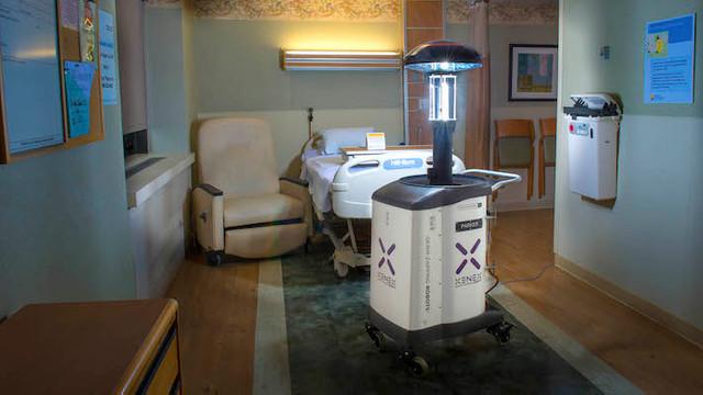 La Spitalul de Boli Infecţioase din Iaşi, roboții se vor ocupa de dezinfecţie