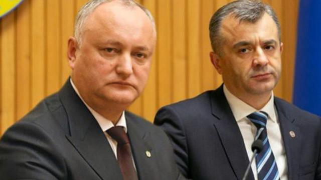 Igor Dodon, șefa Legislativului, Zinaida Greceanîi și premierul Ion Chicu se întrunesc în ședință