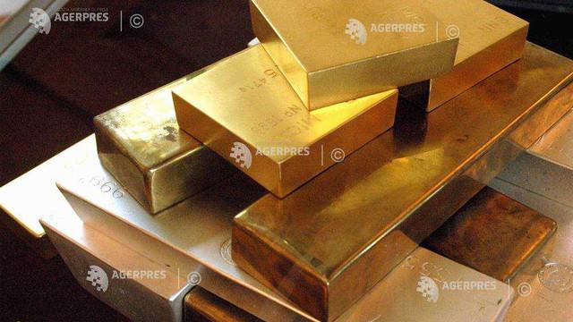 Aurul a atins cel mai ridicat nivel din ultimii șapte ani, ca urmare a tensiunilor SUA-Iran