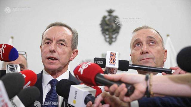 Polonia: Steagul UE revine în Senat după alegerea unui membru al opoziției la șefia camerei legislative