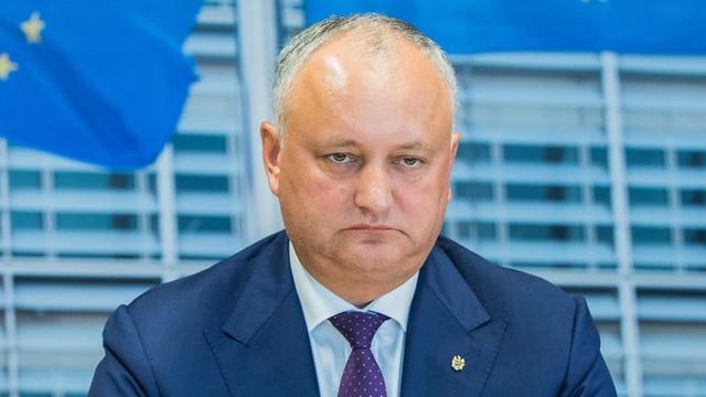 Igor Dodon: Susținem Guvernul și majoritatea parlamentară, dar cu anumite condiții