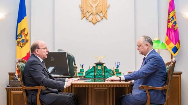 Când va pleca Ion Chicu la Moscova. Igor Dodon și ambasadorul Rusiei au discutat despre această vizită