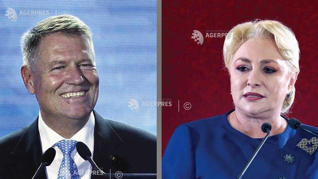 Alegeri prezidenţiale România   Exit-poll CURS-Avangarde: Klaus Iohannis - 64,8%; Viorica Dăncilă - 35,2%