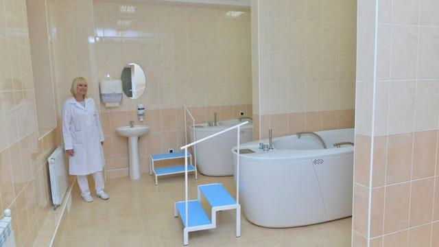 """La Spitalul """"Sf. Arhanghel Mihail"""" a fost inaugurat Centrul de reabilitare medicală"""