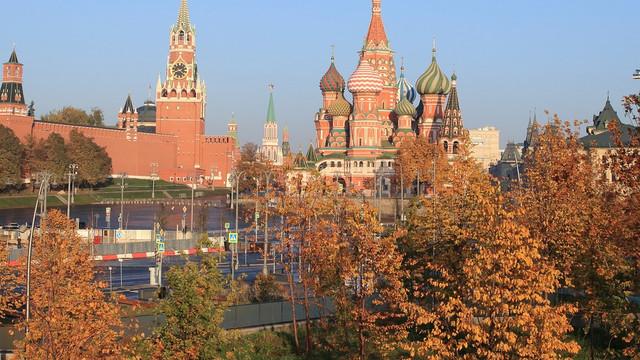 Cea mai caldă toamnă din secolul al XXI-lea, la Moscova