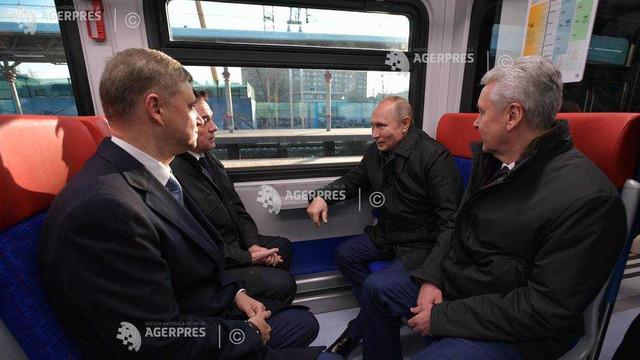 Moscova inaugurează o rețea de trenuri menite să lege periferiile de centru și să reducă traficul rutier