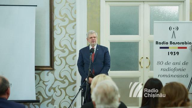 VIDEO | Radio Chișinău - Radio Basarabia, 80 de ani: Radioul - un element coagulant al României Mari