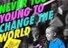 """Flasmob în fața Parlamentului: """"Tinerii pledează pentru drepturile omului"""""""
