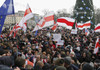 Mii de manifestanți s-au adunat din nou la Minsk, pentru a protesta împotriva realegerii președintelui Aleksandr Lukașenko